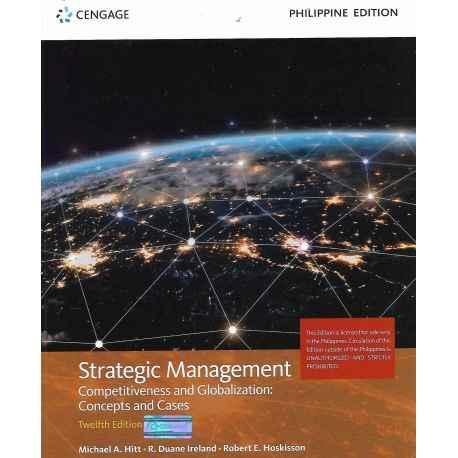 Strategic Management (2019 Edition) Paper Bound