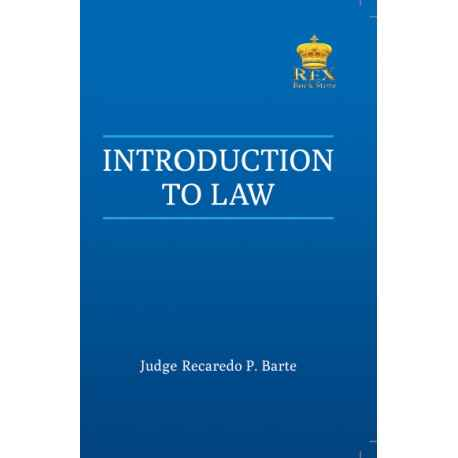 Introduction to Law (2020 Edition) Paper Bound