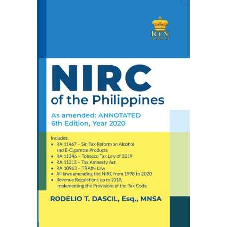 NIRC of the Philipplines (2020 Edition) Paper Bound