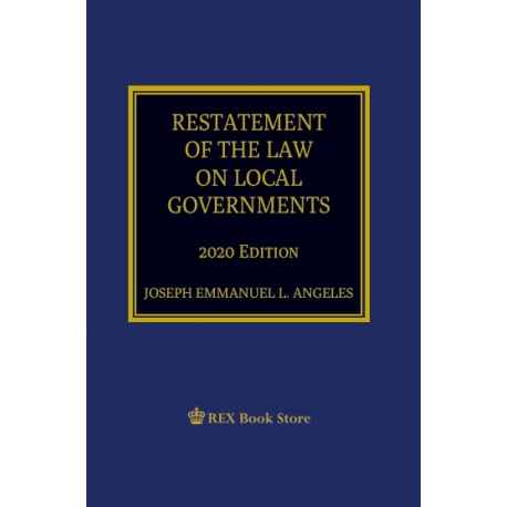 Restatement of the Law on Local Government [Paperbound]