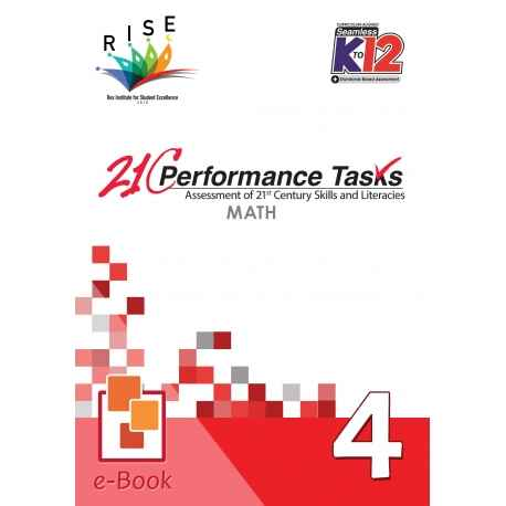 21C Performance Tasks Math 4 [ e-Book : ePub ]