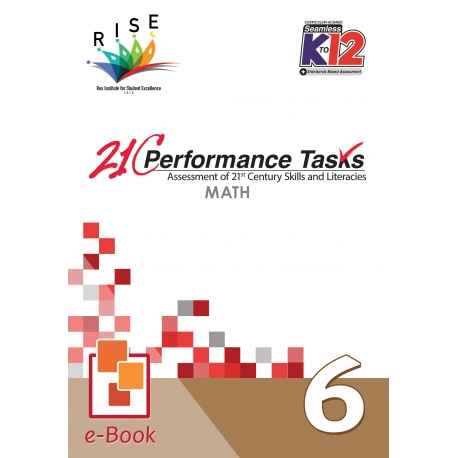 21C Performance Tasks Math 6 [ e-Book : ePub ]