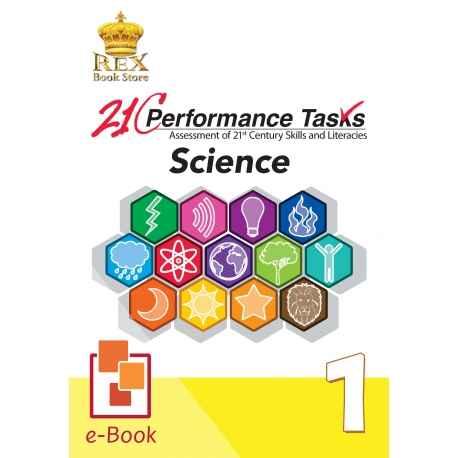 21C Performance Tasks Science 1 [ e-Book : ePub ]