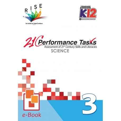21C Performance Tasks Science 3 [ e-Book : PDF ]