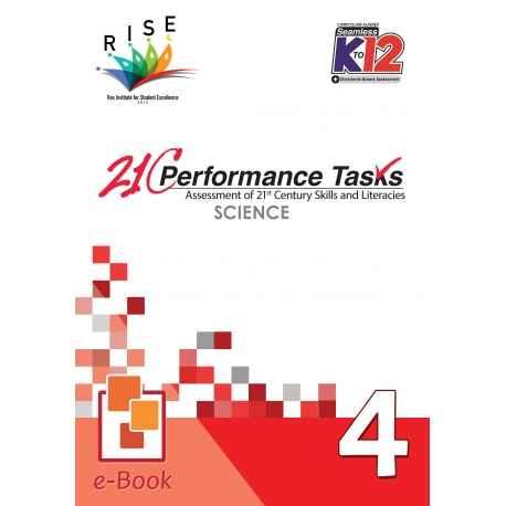 21C Performance Tasks Science 4 [ e-Book : ePub ]