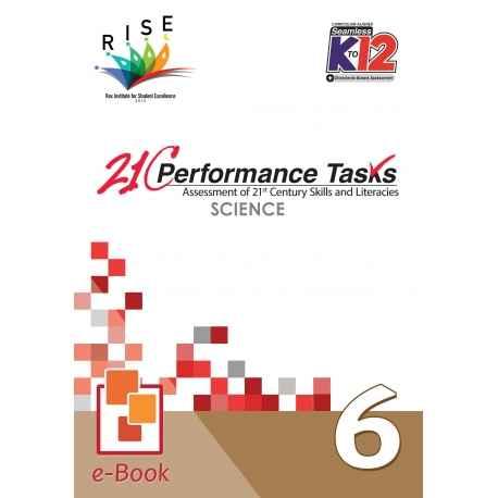 21C Performance Tasks Science 6 [ e-Book : PDF ]