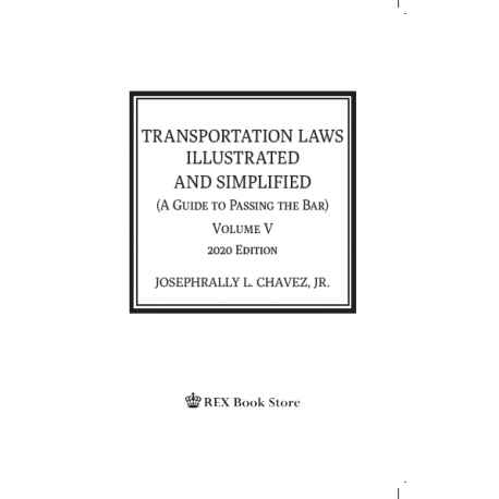Transportation Laws Illustrated and Simplified (2020 Edition) Cloth Bound