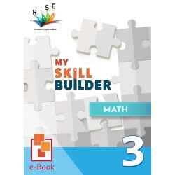My Skill Builder Math 3 [ e-Book : ePub ]