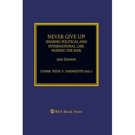 Never Give Up! (2021 Edition) Paper Bound