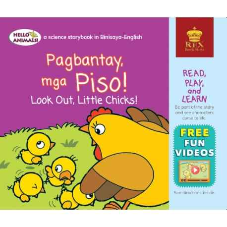 Hello Animals Pagbatay Piso! Look Out, Little Chicks (Small Books)!
