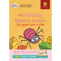 Hello Animals Ang Damang Nagbuhat og Sapot The Spider Spins A Web (Big Books)