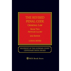 Revised Penal Code Book Two (2021 Edition) Cloth Bound