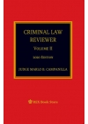 Criminal Law Reviewer Volume II (2020 Edition) Paper Bound