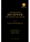 The Pre-Week Reviewer for Jittery Bar Takers Volume III (2021 Edition) Paper Bound