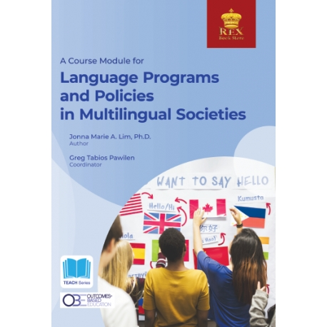 A Course Module for Language Programs and Policies in Multilingual Societies (2021 Edition) Paper Bound