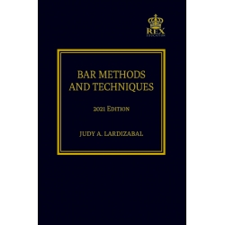 Bar Methods and Techniques (2021 Edition) paper Bound