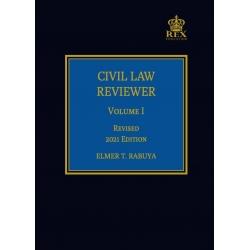 Civil Law Reviewer Volume I (2021 Edition) Cloth Bound