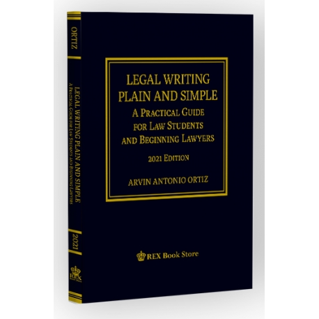 Legal Writing Plain and Simple (2021 Edition) Paper Bound