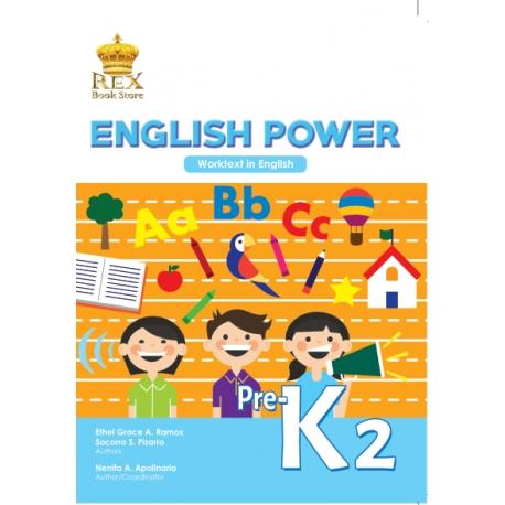 English Power Pre-K2 Work Text 2018