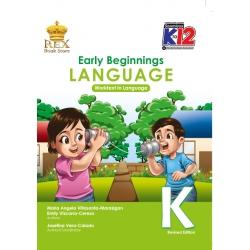 Early Beginning Language K Work Text K-12`19