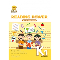 Reading Power Pre-K1 Work Text`2018