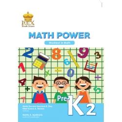 Math Power Pre Kinder 2 Work Text ` 2018