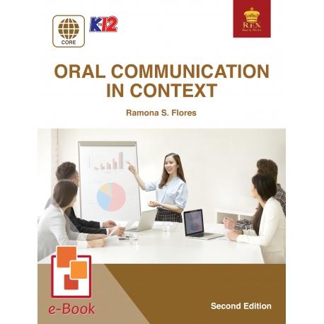 Oral Communication in Context [E-Book : PDF] Second Edition