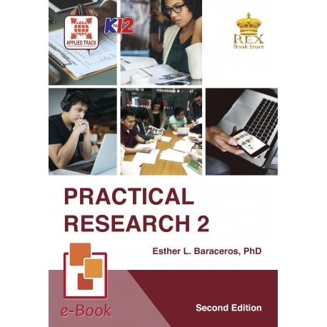 Practical Research 2 [E-Book : E-Pub] Second Edition