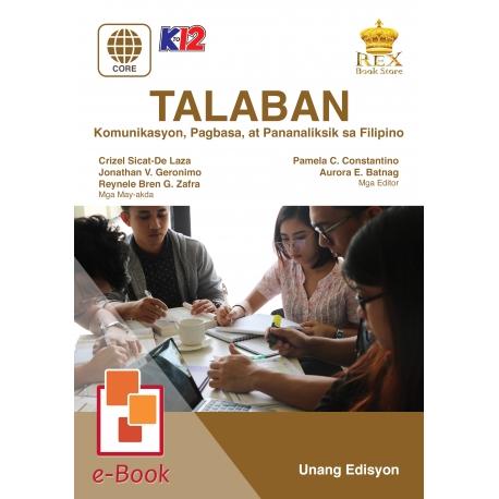 TALABAN [E-Book : E-Pub] Unang Edisyon