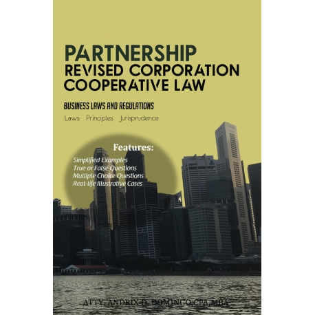 Partnership: Revised Corporation, Cooperative Law (2021 Edition) Paper Bound