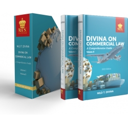 Limited Edition : Divina on Commercial Law Bundle (with Free Book Case)