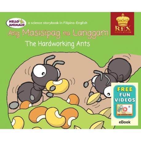Hello Animals The Hardworking Ants [E-Books) (EPUB) 2019 Edition