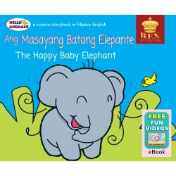 Hello Animals The Happy Baby Elephant [E-Books : E-PUB] 2019 Edition