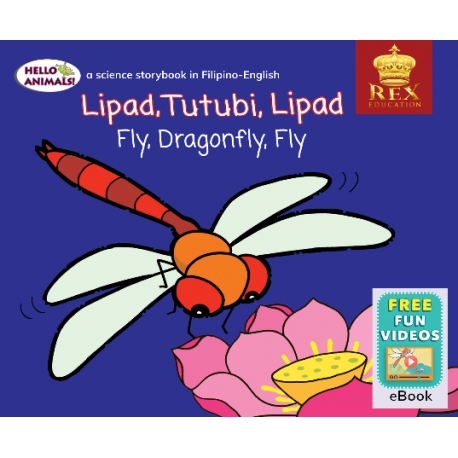 Hello Animals Fly Dragonfly Fly [E-Books : E-PUB] 2019 Edition