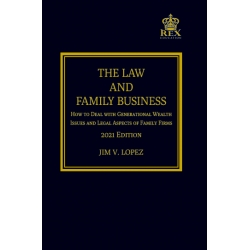 The Law and Family Business (2021 Edition) Paper Bound