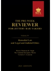 The Pre-Week Reviewer for Jittery Bar Takers Volume I (2021 Edition) Paper Bound