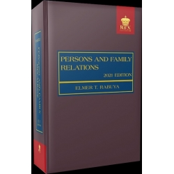 Persons and Family Relations (2021 Edition) Cloth Bound