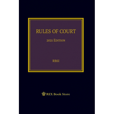 Rules of Court (2021 Edition) Cloth Bound