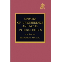 Updates of Jurisprudence and Notes in Legal Ethics (2021 Edition) Paper Bound