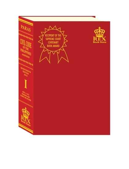 Civil Code Volume I (Persons and Family relations)