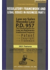 Regulatory Framework and Legal Issues in Business Part I (2021 Edition) Paper Bound