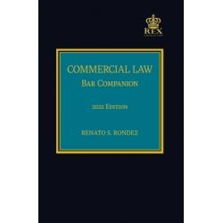 Commercial Law : Bar Companion (2021 Edition) Cloth Bound