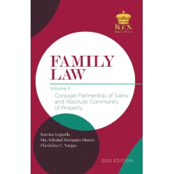 Family Law Volume II (2021 Edition) Cloth Bound