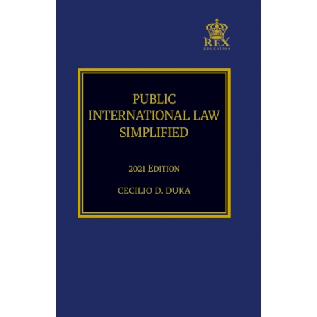 Public International Law Simplified (2021 Edition) Paper Bound
