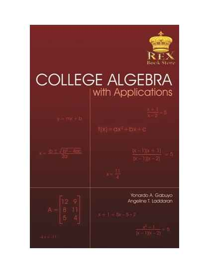 College Algebra with Computer Applications