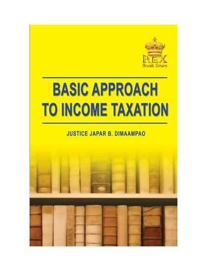 Basic Approach in Taxation