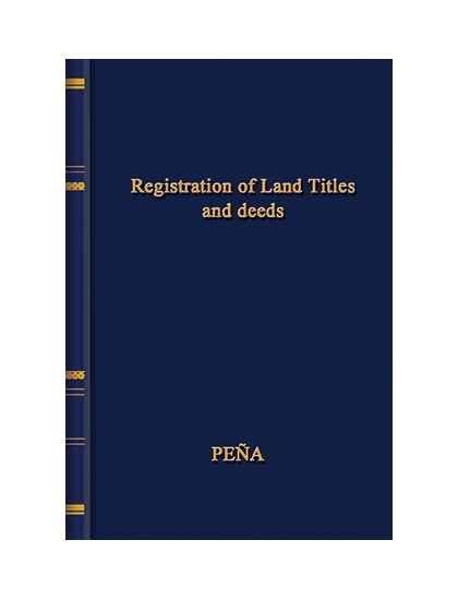 Registration of Land Titles and Deeds