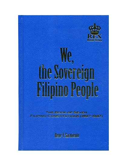 We, Sovereign Filipino People
