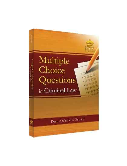 Multiple Choice Questions in Criminal Law