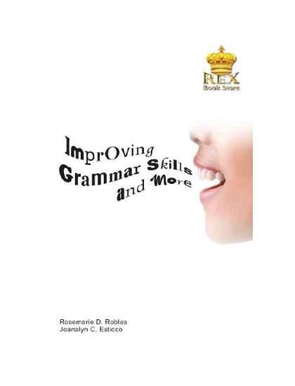 Improving Grammar Skills and More